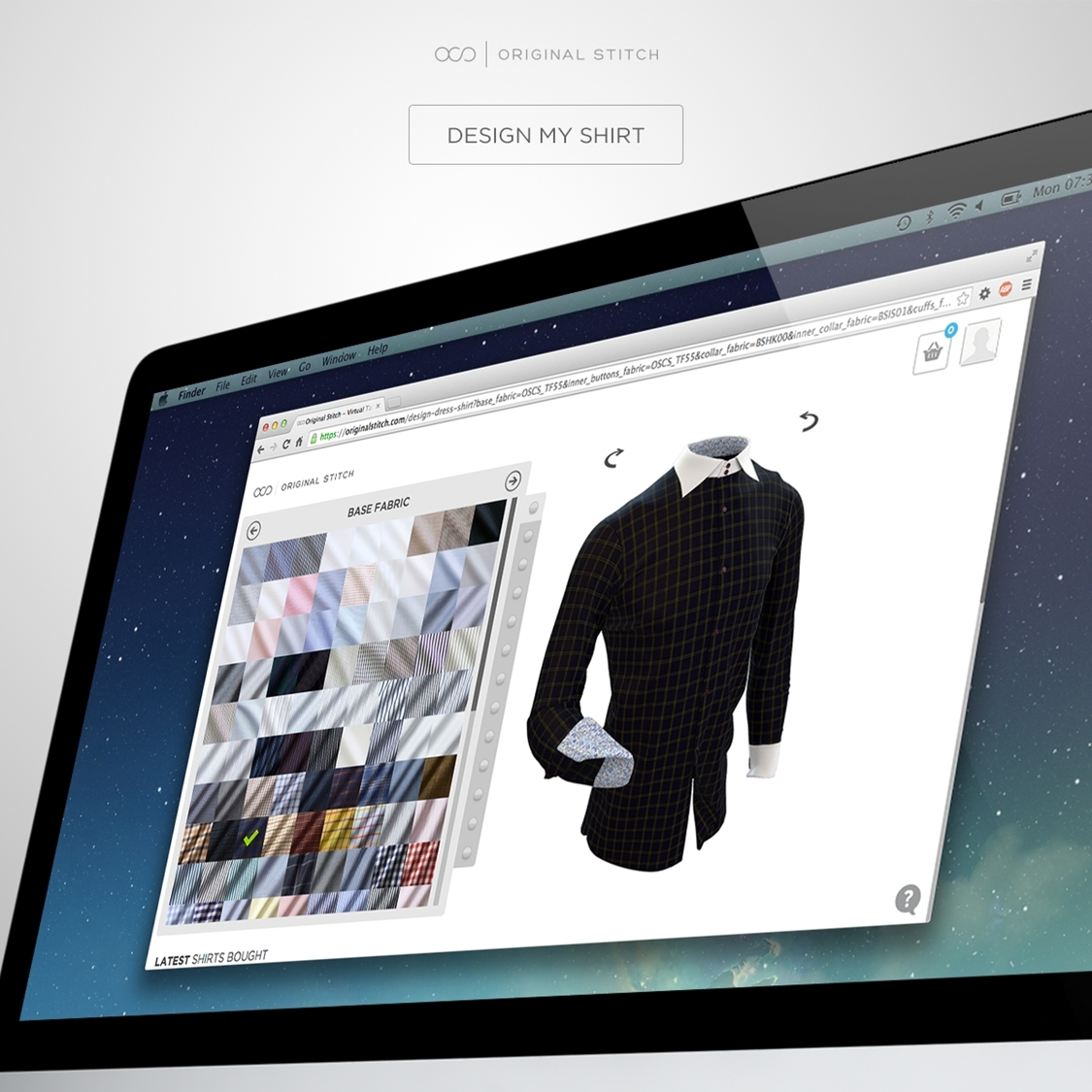 Interactive 3D design app lets you preview your customization in real time. Play with over 200 patterns and colors! (Photo: Business Wire)