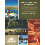 Summer in AZ - print ad. (Graphic: Business Wire)