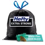 With White Pine(TM) scented Odor Block(R) technology, Hefty(R) is expanding their expertise into large black trash bags with a meaningful scent. (Photo: Business Wire)