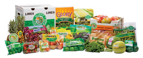 Robinson Fresh(R) consumer and private label brands. (Photo: Robinson Fresh)