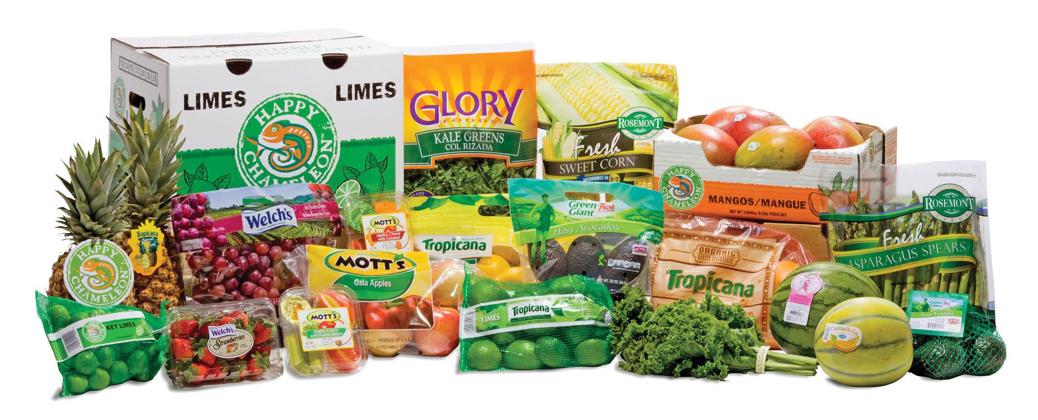 Robinson Fresh(R) consumer and private label brands. (Photo: Robinson Fresh)