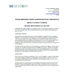 FY14 Q4 Text and Financials