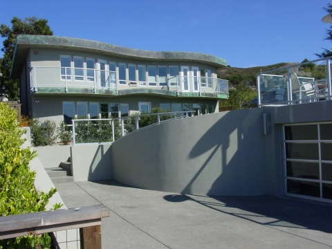 Tech entrepreneur John Sweeney's waterfront Tiburon home has been listed by Keller Williams for $3.6 ...