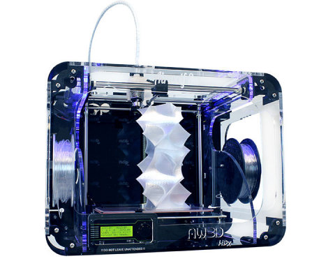The Airwolf 3D Model AW3D HDx is the first high performance, high temperature desktop 3D printer (Ph ...
