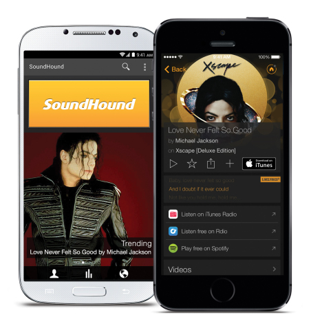 The New SoundHound is Available on iOS and Android Today (Photo: Business Wire)