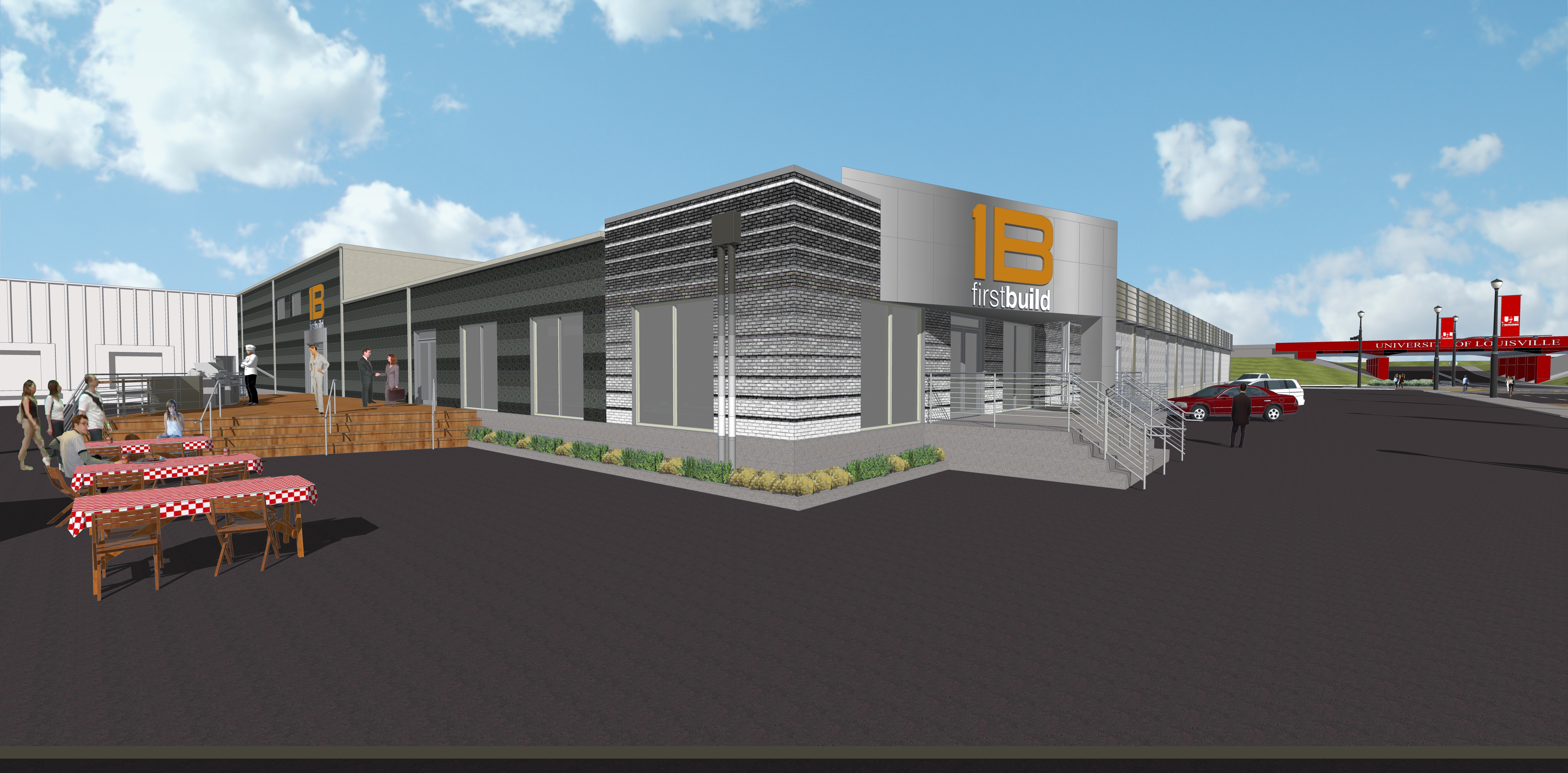 The new FirstBuild micro-factory will be located in Louisville, Ky., and will officially open this summer. (Photo: GE)