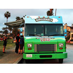 Ben & Jerry's scoop truck touring LA (Photo: Business Wire)