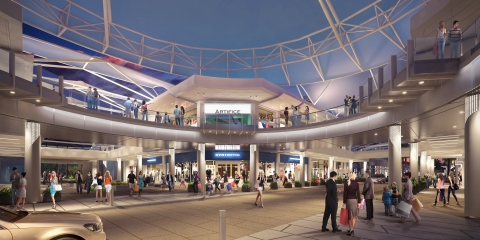 Rendering of Streetscape at Downtown Summerlin (Photo: Business Wire)