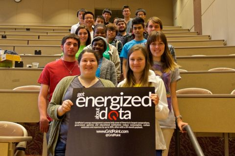 Students got energized about data at Emory University's DataFest. (Photo: Whitley Pro Media Inc.)