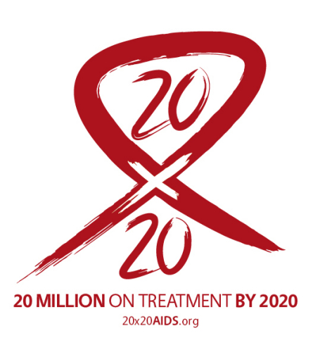 In November 2013, AHF, together with a number of other organizations, kicked off '20x20' - a groundbreaking global effort to scale up the number of people on lifesaving AIDS treatment to ensure that 20 million people worldwide are on antiretroviral treatment by the year 2020. Of the thirty-four million people living with HIV/AIDS worldwide today, twenty-four million people still do not have access to AIDS treatment. (Graphic: Business Wire)