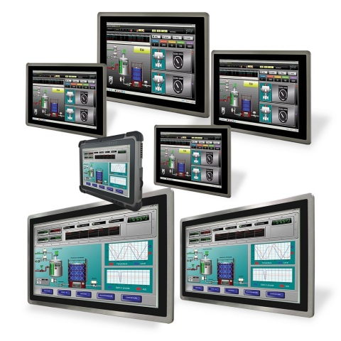 Operator Interface Panels, Touch Screen HMI Panels, Modularized HMI Panel PCs (Photo: Business Wire)