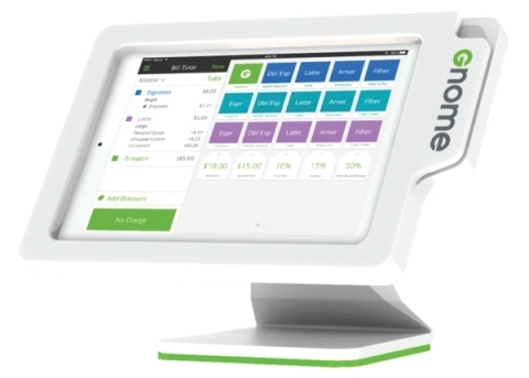 Groupon's Gnome (www.groupon.com/gnome) is a tablet-based platform that will fundamentally change the way consumers redeem Groupons and how merchants run their business and interact with their customers (Photo: Business Wire)