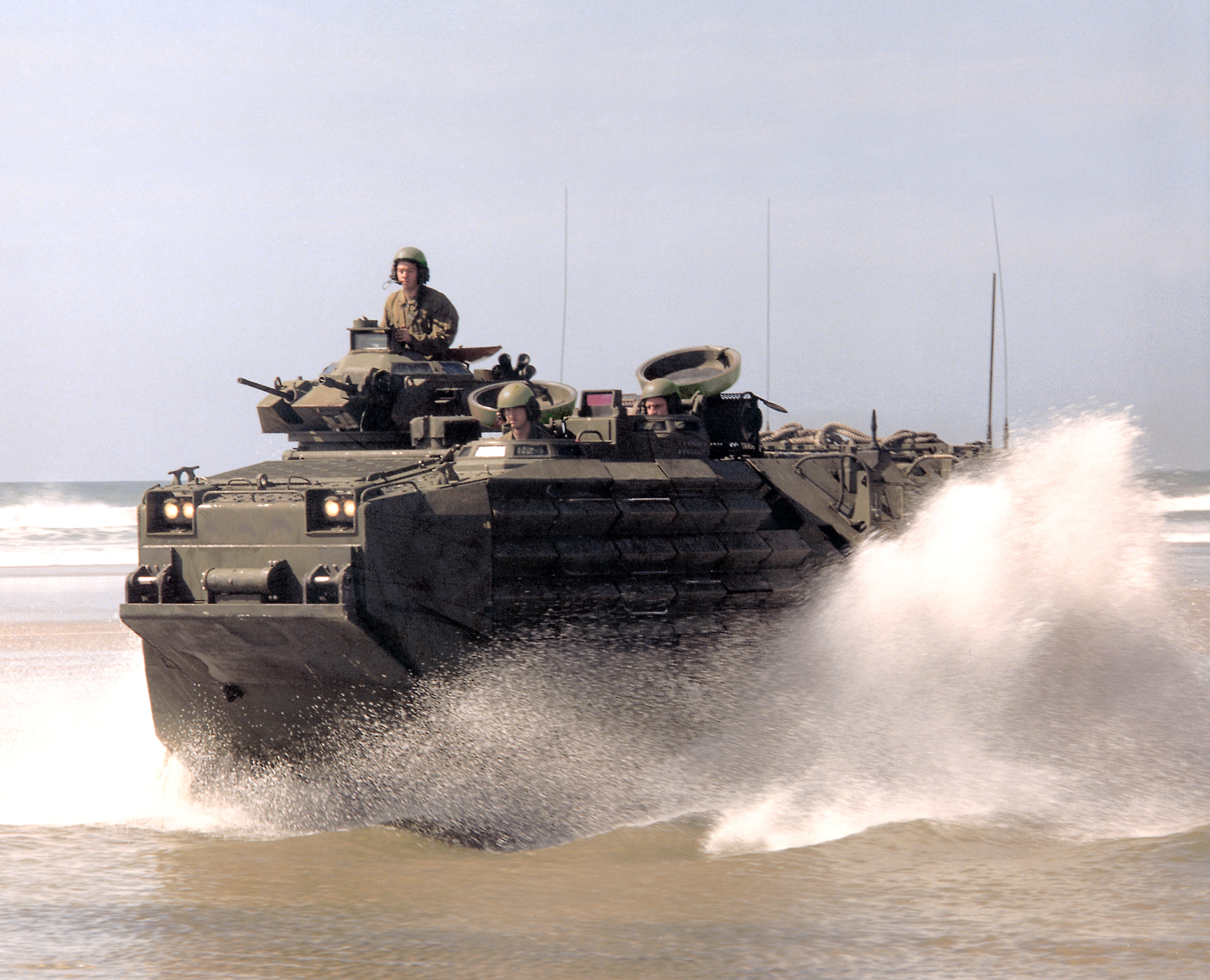 BAE Systems will provide engineering design and development work related to survivability upgrades for the U.S. Marine Corps' AAV7A1 Assault Amphibious Vehicle (AAV). (Photo: BAE Systems)