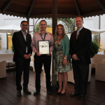"""Eaton's Belmond, Iowa, facility received the 2013 """"Overall Excellence in Inclusion"""" award from the company's Vehicle Group. (Photo: Business Wire)"""