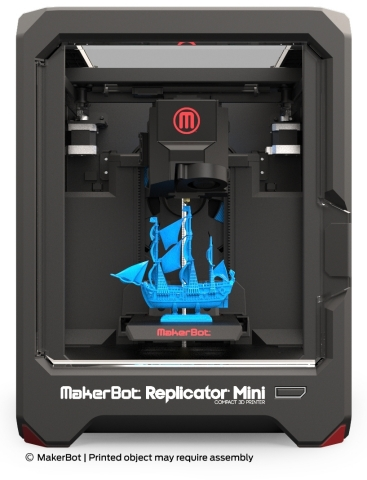 MakerBot Starts Shipping the MakerBot Replicator Mini Compact 3D