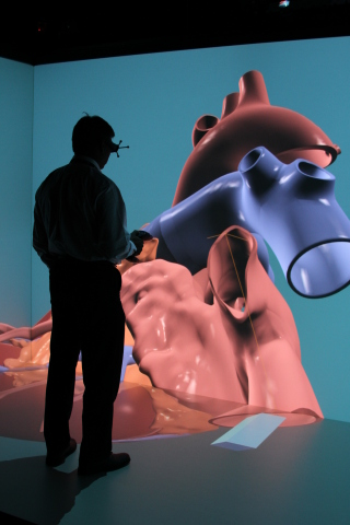 Dassault Systemes unveiled the world's first 3D realistic simulation model of a whole human heart at ...