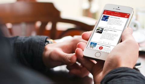 Brightidea Releases Mobile 5 App for iOS and Android Devices (Photo: Business Wire)