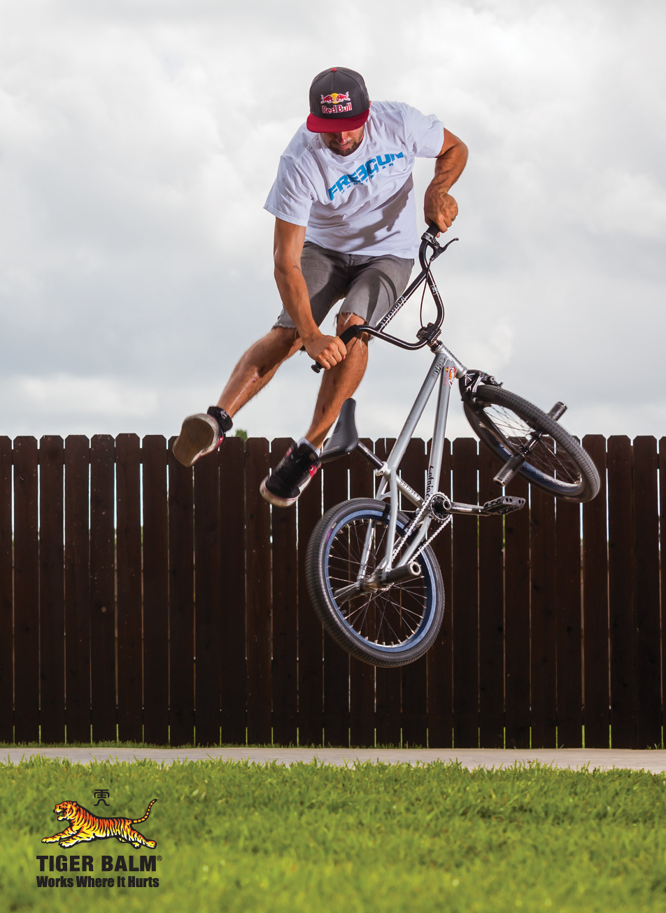 Professional flatland BMX rider Terry Adams (Photo: Business Wire)