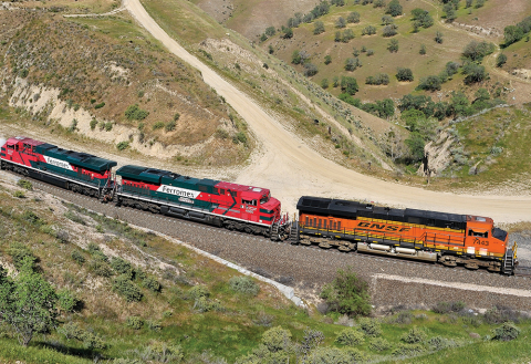 BNSF partners with Ferromex to launch new intermodal service between Chicago and Silao, Mexico (Photo: Business Wire)