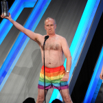 Stripping Putin Impersonator Accepts Webby Award for LGBTQ Rights