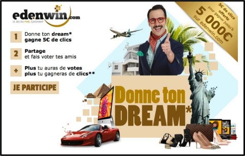 Application « Donne ton dream » (Graphic: Business Wire).