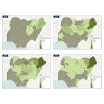 IHS Country Risk graphics show the evolution of Boko Haram's activity. (Graphic: Business Wire)
