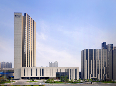 The opening of Hyatt Regency Tianjin East marks the return of the Hyatt Regency brand to Tianjin; 28 years after making history in China. (Photo: Business Wire)