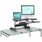 "VARIDESK ""Pro Plus"" Standing Desk (Photo: Business Wire)"