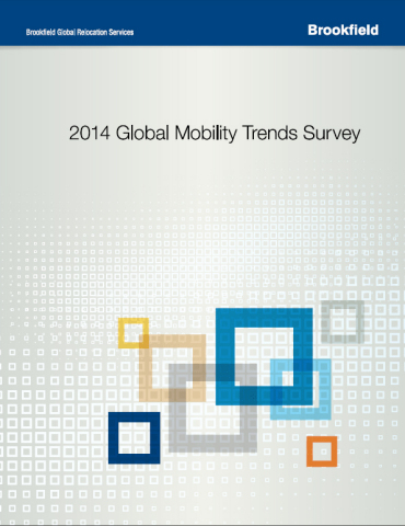 2014 Global Mobility Trends Survey by Brookfield Global Relocation Services (www.brookfieldgrs.com) (Graphic: Business Wire)