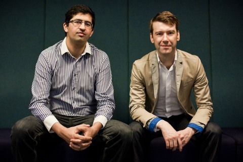 Toothpick founders Sandeep Senghera and Jozef Wallis (Photo: Business Wire)