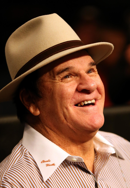 Baseball legend Pete Rose (Ezra Shaw/Getty Images)
