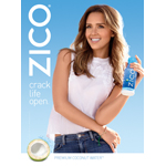 ZICO Coconut Water and Jessica Alba team up to launch the Crack Life Open national brand campaign across print, out-of-home and digital advertising. (Photo: Business Wire)