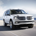 The 2015 Lincoln Navigator full-size sport utility vehicle, with a refreshed exterior design, refined interior appointments and more power and better handling than ever, will go on sale later this year with a starting suggested manufacturer's retail price of $62,475, including destination and delivery charges. (Photo: Business Wire)
