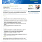 eXplorance named a Cool Vendor in Education by Gartner (Graphic: Business Wire)