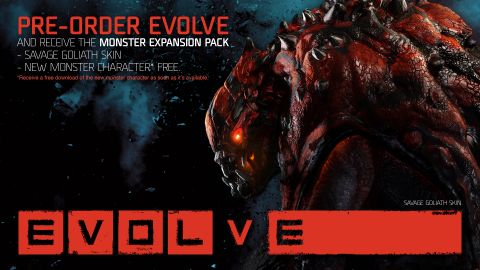 Evolve is available now for pre-order at participating retailers. (Graphic: Business Wire)