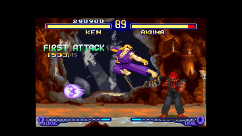 Street Fighter Alpha 2 for the Virtual Console on Wii U explodes with lightning-fast game play and amazing innovations. (Photo: Business Wire)