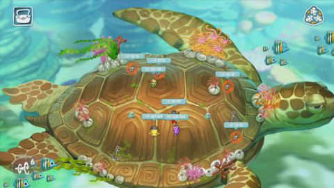 With its colorful realm under siege, a scrappy shoal of squid heroes has no other choice but to fight back in Squids Odyssey for Wii U. (Photo: Business Wire)