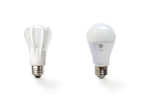 From GE's 40-watt replacement LED, the world's first incandescent-shaped LED bulb to earn an ENERGY STAR® rating, to today's third generation LED design, GE LEDs provide the same quality of light consumers love from GE's original incandescent. (Photo: Business Wire)