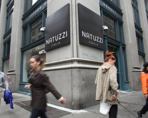 Natuzzi Italia store at 105 Madison Avenue, New York. (Photo: Business Wire)