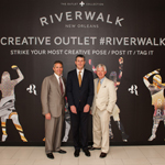 The Howard Hughes Corporation Chief Executive Officer, David R. Weinreb; The Howard Hughes Corporation President, Grant Herlitz; New Orleans Tourism Marketing Corporation President & CEO, Mark Romig (Photo: Business Wire)