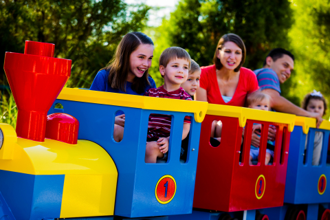 LEGOLAND Florida, in Winter Haven, Florida, opens DUPLO Valley, a new attractions area designed for toddlers ages 2-5. (STAFF PHOTO: Chip Litherland)
