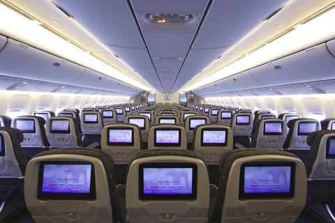 EVA Air adds two brand-new Boeing 777-300ERs, increases flight frequency in North America, expands Elite premium economy and Economy Class monitors and introduces inflight Wi-Fi and touch-screen technology for every passenger in every seat. (Photo: Business Wire)