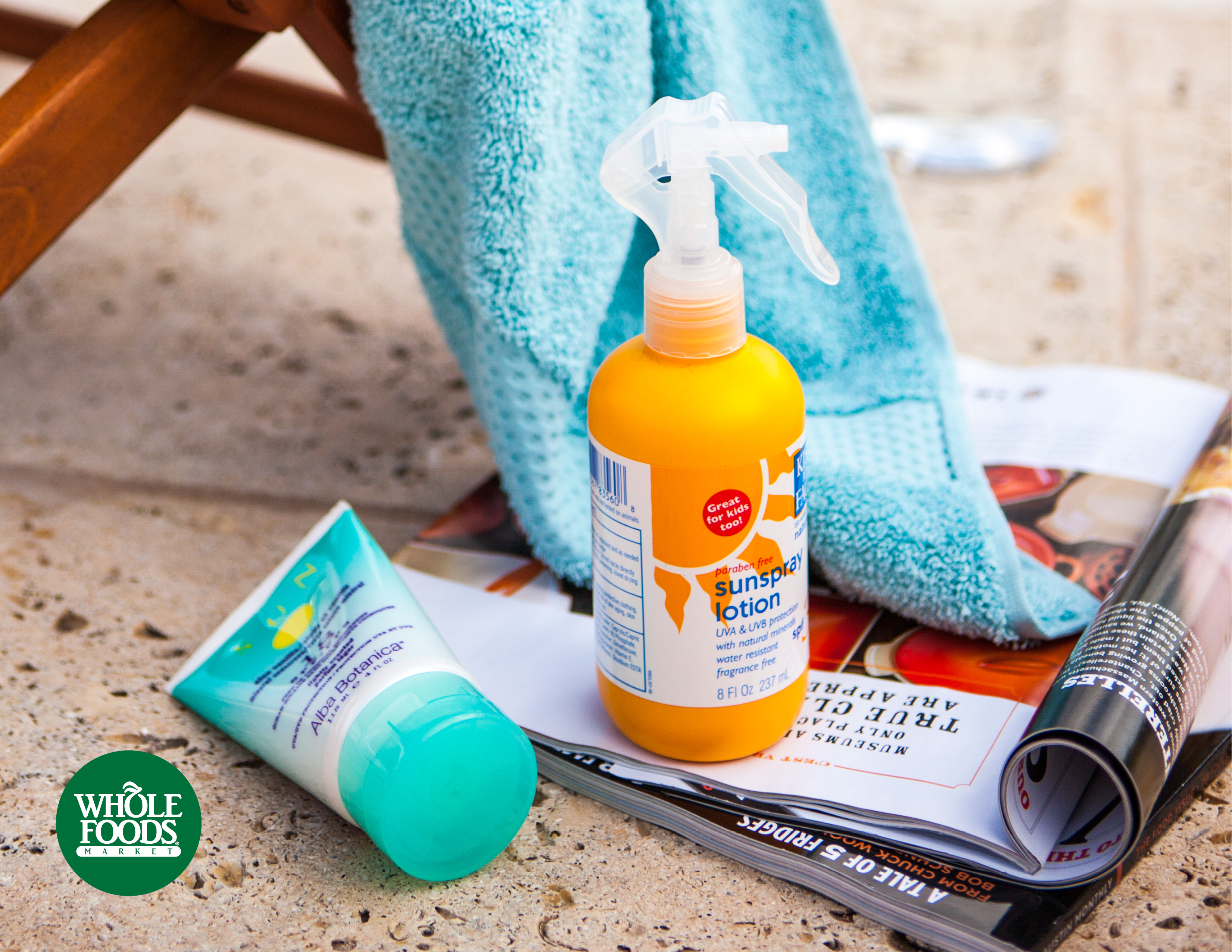 Stock up and save 30 percent on sun care during Memorial Day Weekend at Whole Foods Market (Photo: Business Wire)