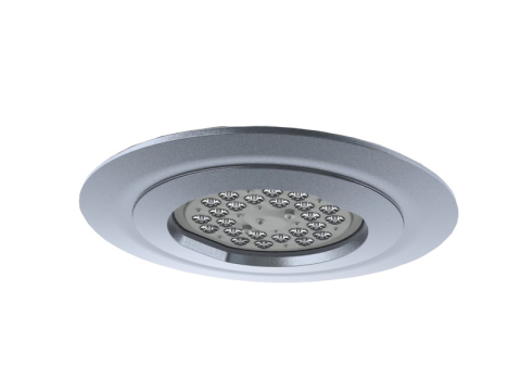 Beacon Products' Ceileo is an efficient commercial grade outdoor and indoor LED recessed canopy downlight. (Photo: Business Wire)