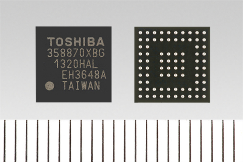 Toshiba: 4K HDMI(R) to MIPI(R) Dual-DSI Converter Chipset with Video Format Conversion (Photo: Busin ...