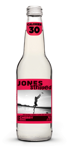 Strip down to the bare essentials with Jones Stripped; available in 6 flavors: Cherry, Green Apple,  ...