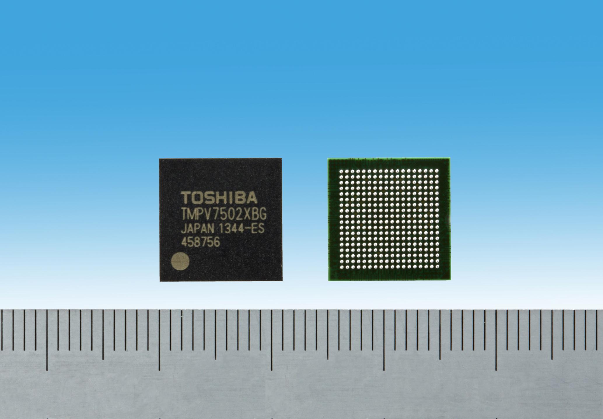 Toshiba: Image Recognition Processor TMPV7502XBG for Small-Size Camera Module (Photo: Business Wire)