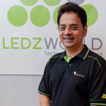 Pictured here is Ken Chakravarti - Chief Executive Officer & CTO at Ledzworld (Photo: Business Wire)