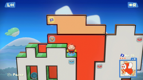 On June 19, Pushmo World will launch exclusively in the Nintendo eShop on Wii U at a price of $9.99. (Photo: Business Wire)