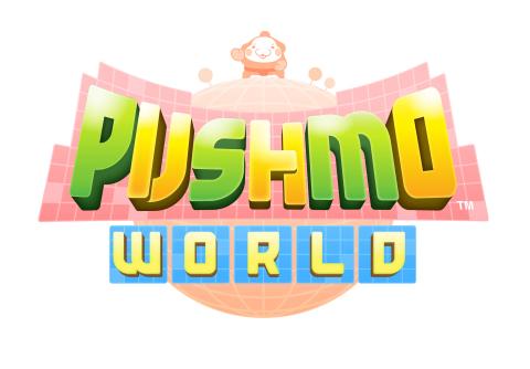 Pushmo World logo.